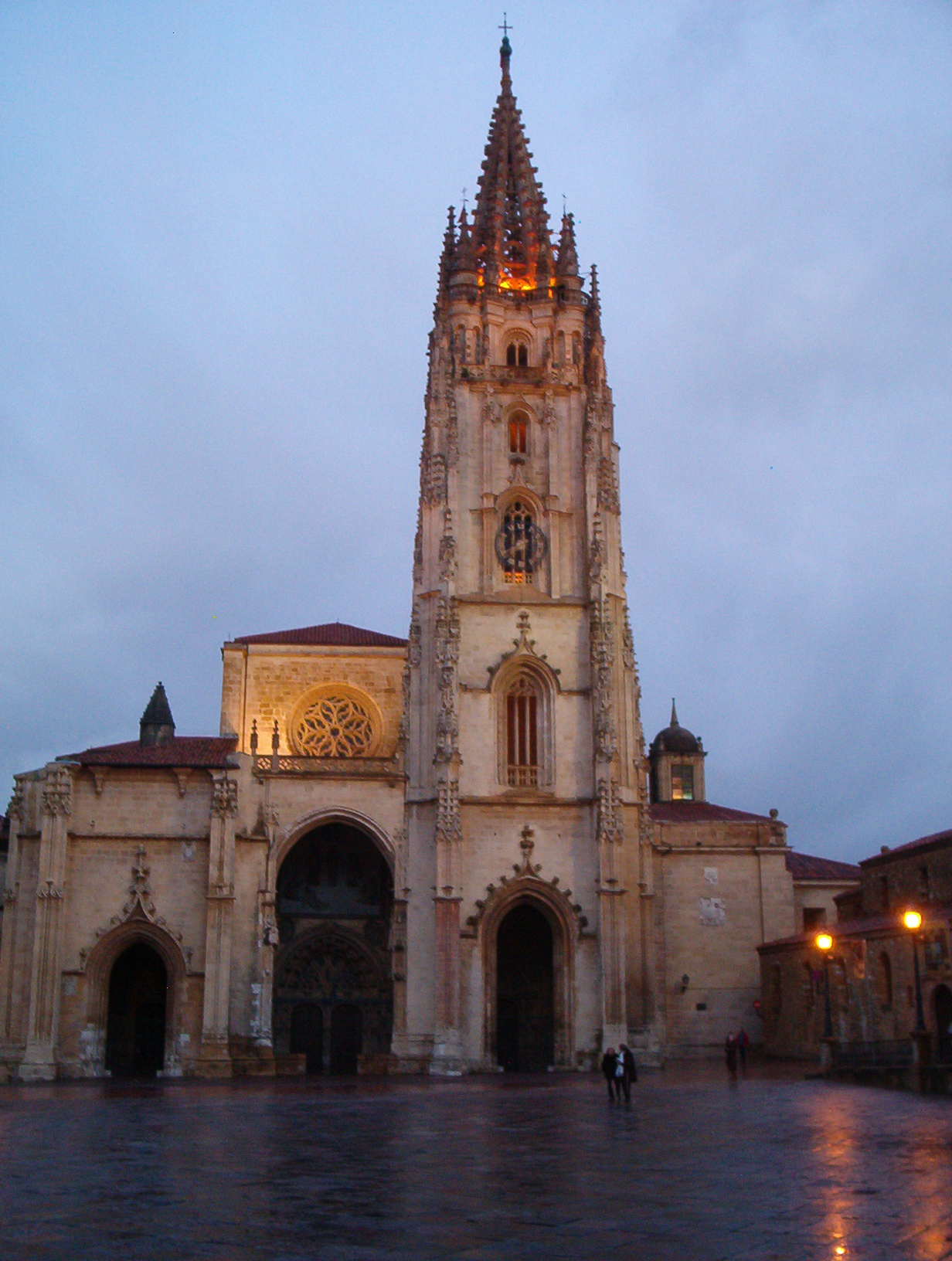 San Salvador Cathedral in Oviedo
