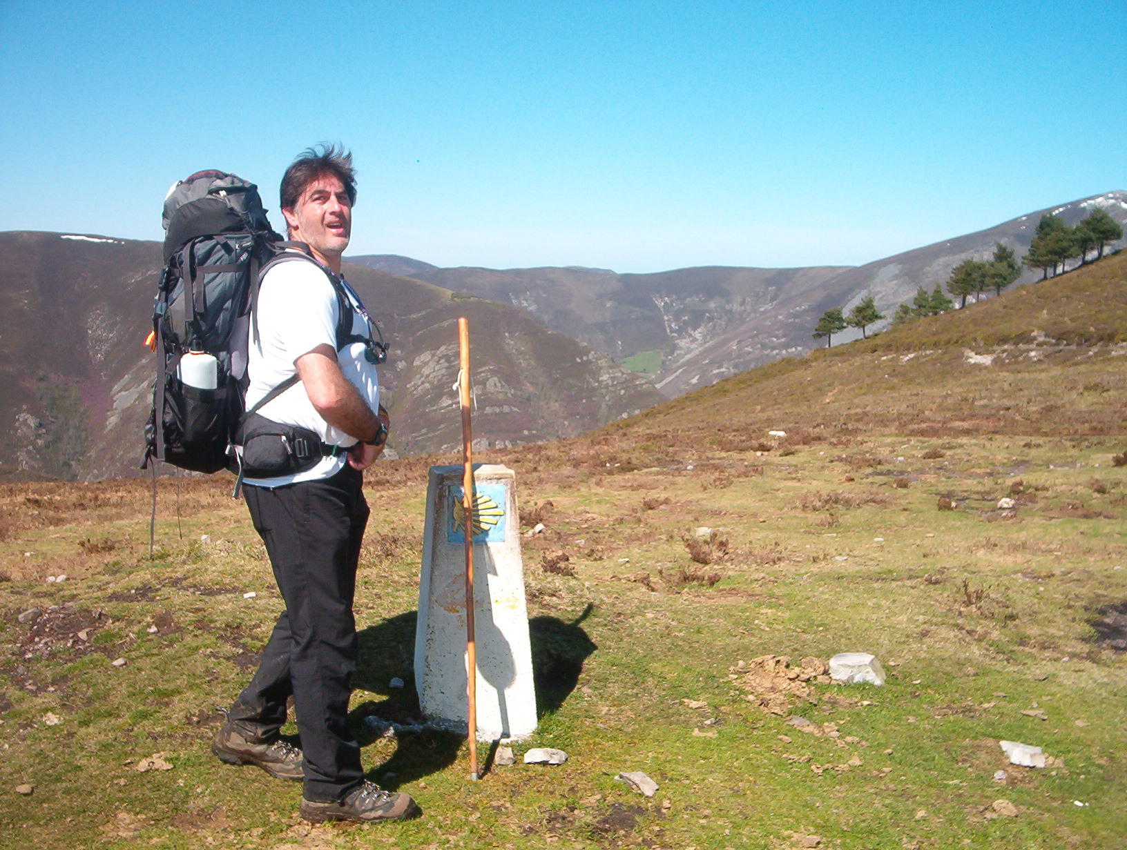 Alan on the Camino