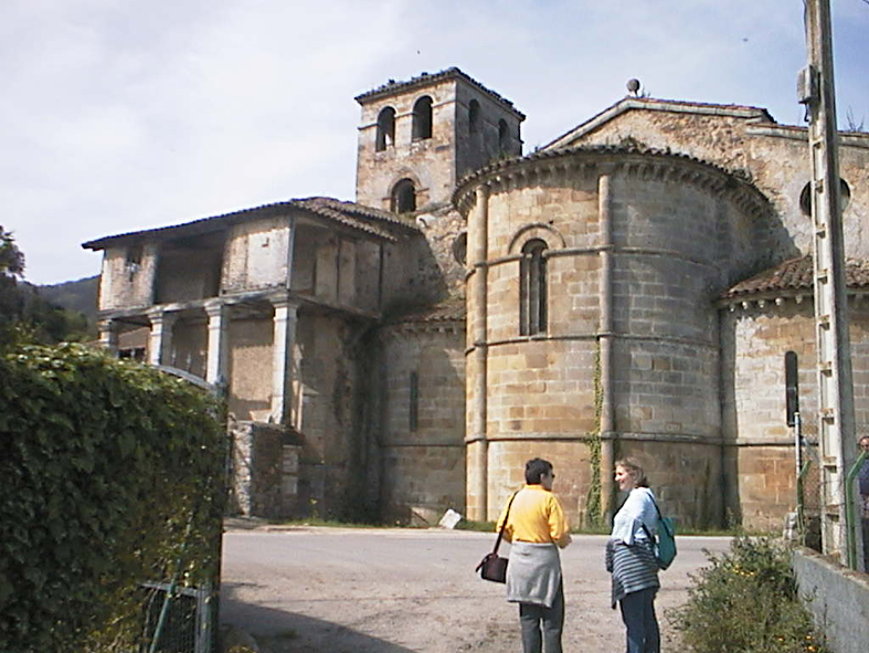 Apse of San Salvador, Cornellana
